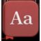 शब्दकोश आइकॉन