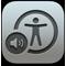 VoiceOver यूटिलिटी आइकॉन