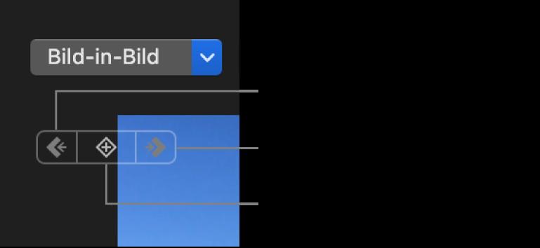 """Tasten """"Vorheriger Keyframe"""", """"Nächster Keyframe"""" und """"Keyframe löschen"""" im Viewer"""