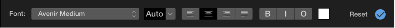 Title controls above viewer