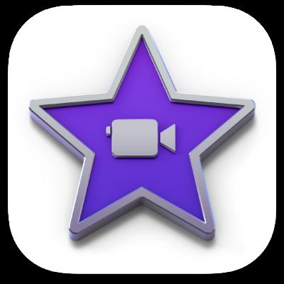 Ícono de la app iMovie