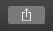 Przycisk Udostępnij na pasku narzędzi