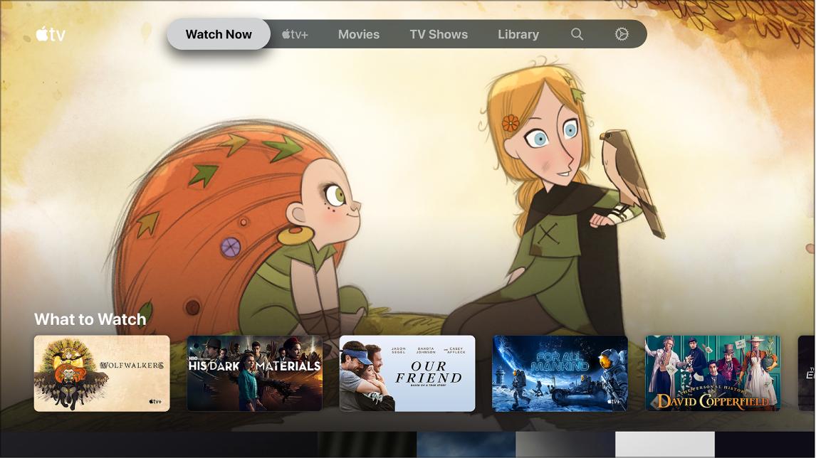 A Műsoron képernyő