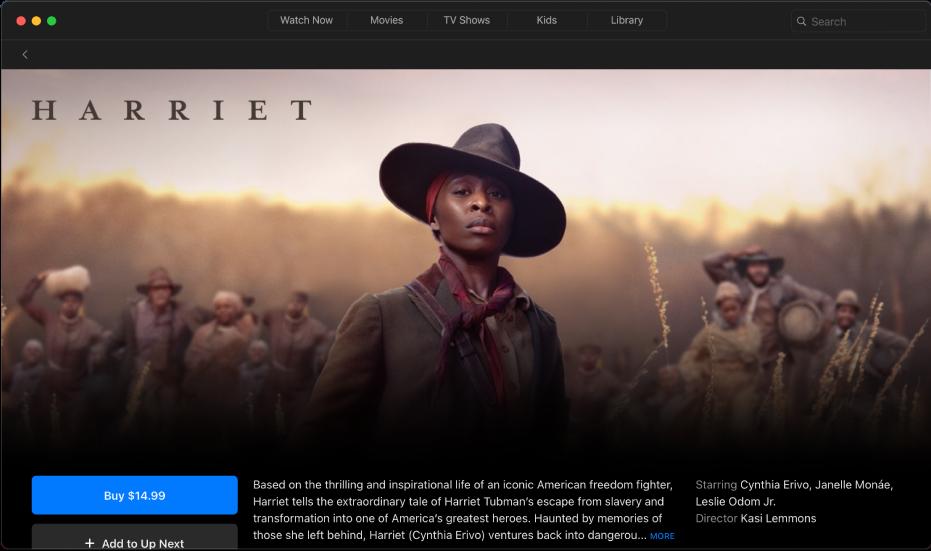 Films detail screen
