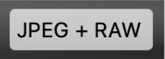 Значок JPEG + RAW