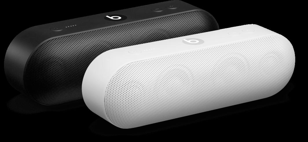 Speaker hitam dan speaker putih dalam grup Amplifikasi
