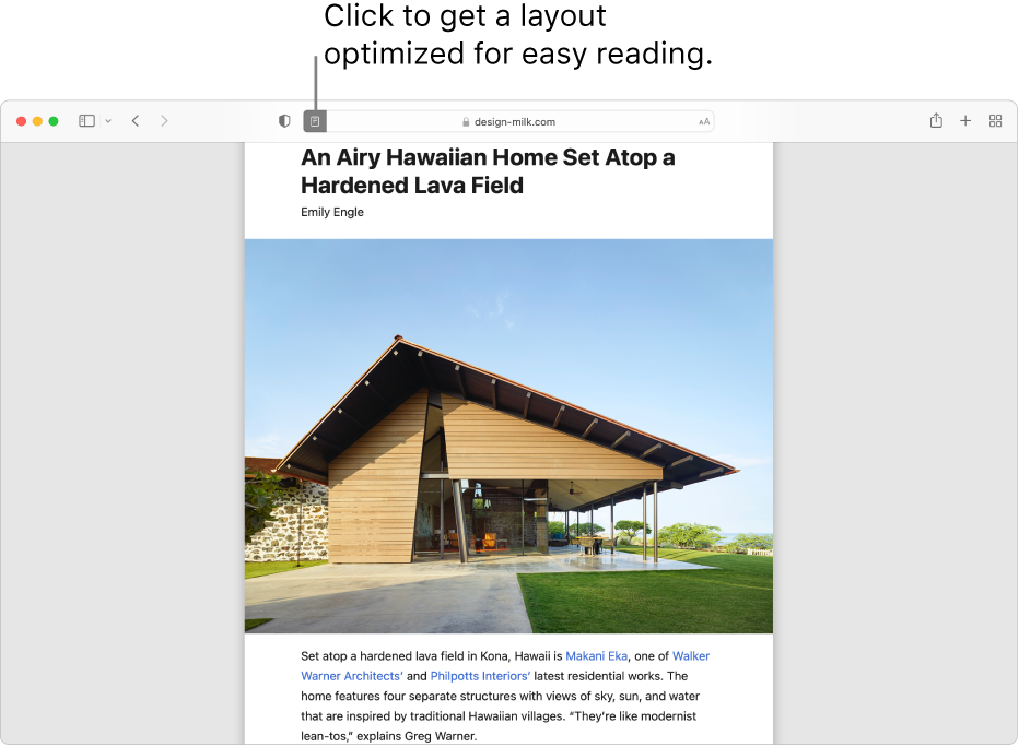 An article in Reader, with all ads and navigation stripped away.