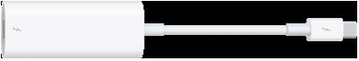 A Thunderbolt3 (USB-C)–Thunderbolt 2 adapter.