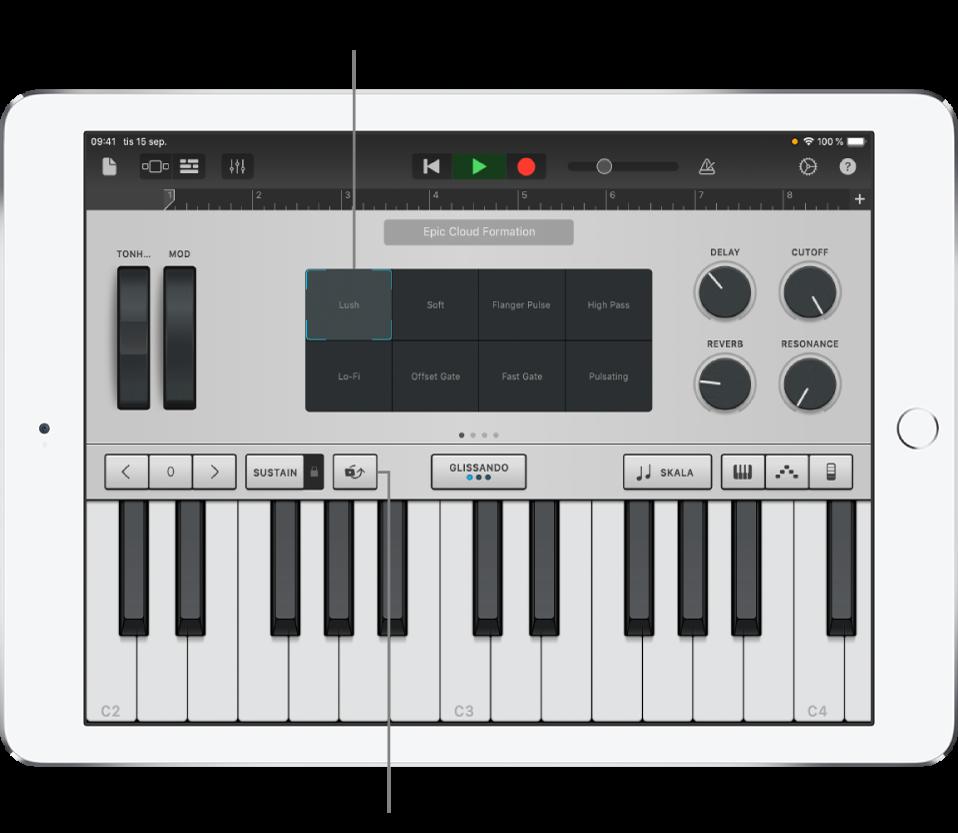 Klaviaturpekinstrument