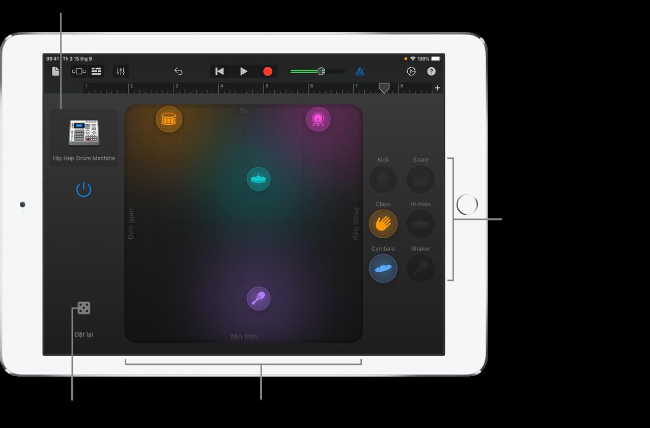 Nhạc cụ cảm ứng Smart Drums