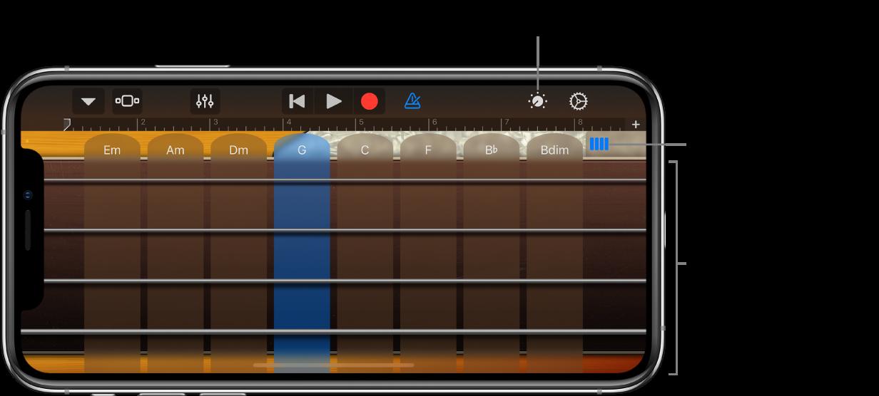 Touch-instrumentet Bas