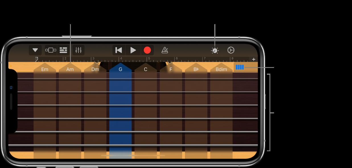 Instrumen Sentuh Gitar