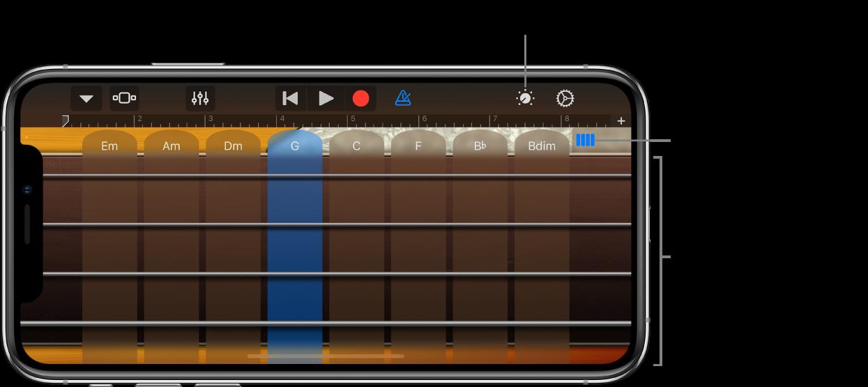 Instrumento táctil Baixo