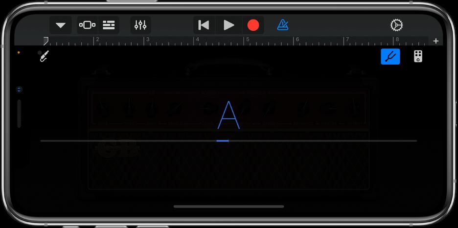 Guitar Amp 的調音器