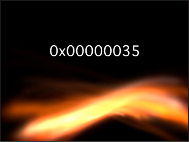 Canvas showing Numbers generator with Format set to Hexadecimal