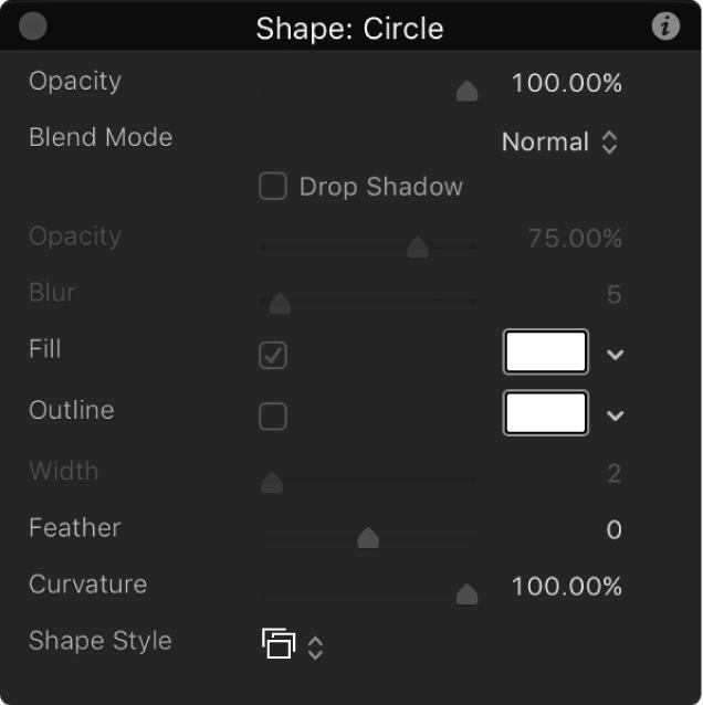 HUD showing Opacity slider set to 100%