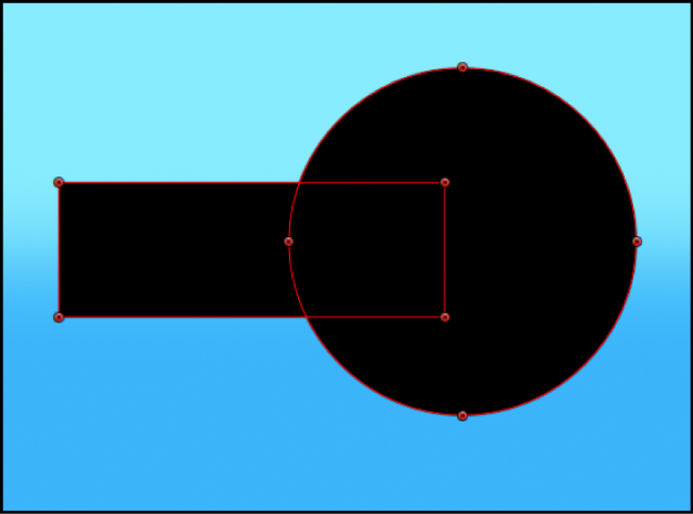Canvas showing mask subtracted from alpha channel