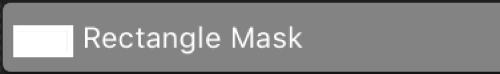 Una barra de máscara