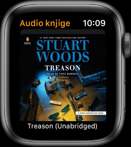 Omot audio knjige.