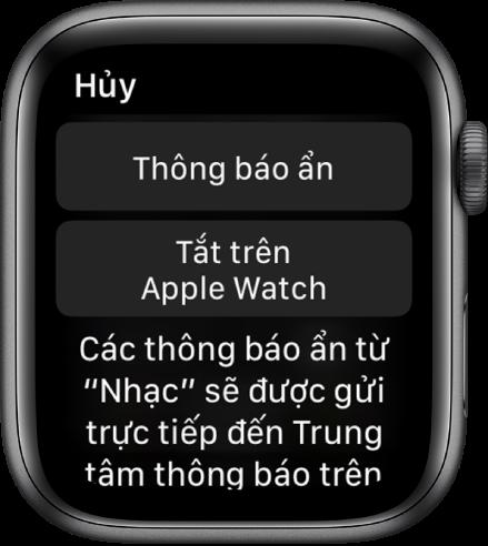 Xem và phản hồi các thông báo trên Apple Watch - Apple Hỗ trợ