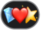 de emoji-stickersknop