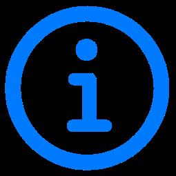 「情報」ボタン