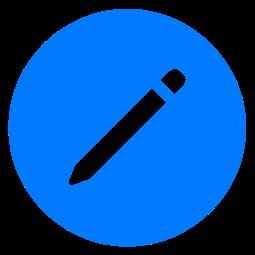 Rediger oppgave-knappen