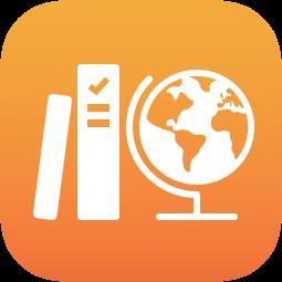 Skolearbeid-ikonet