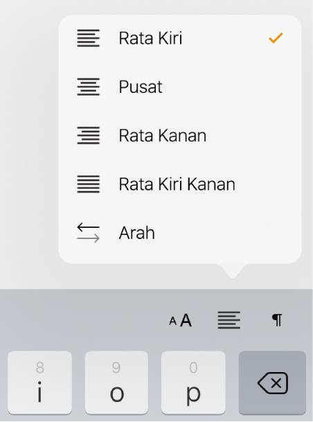 Meratakan Dan Meratakan Kiri Kanan Teks Di Pages Di Ipad Apple Support