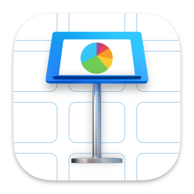 Ikon app Keynote.