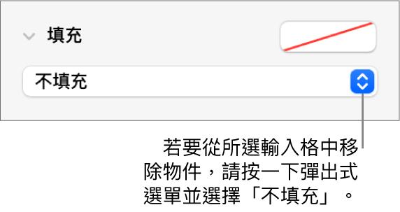 移除輸入格物件的控制項目。