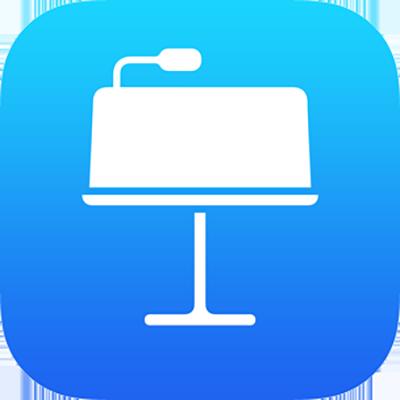 El icono de la app Keynote