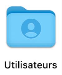 Le dossier Utilisateurs.