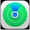 「探す」アプリケーションのアイコン