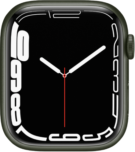 The Contour watch face.