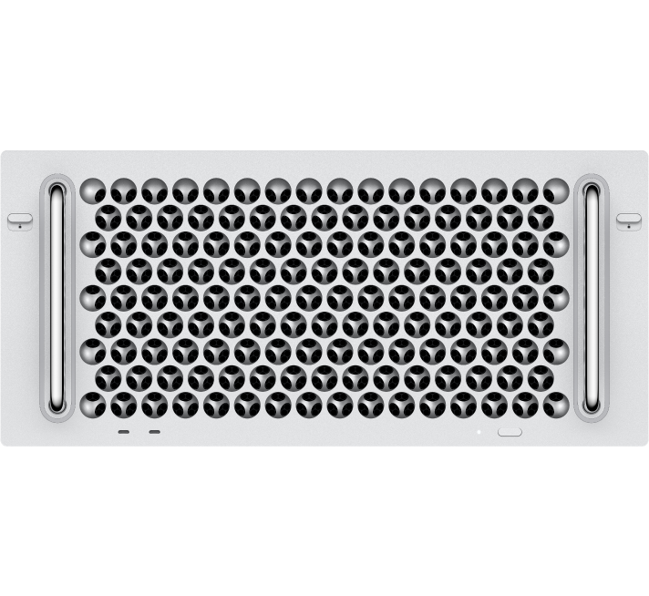 Ilustracja przedstawiająca szafę serwerową zMakiem Pro.