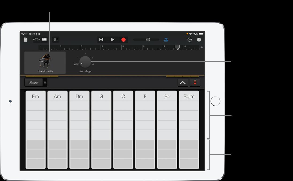 Keyboard chord strips