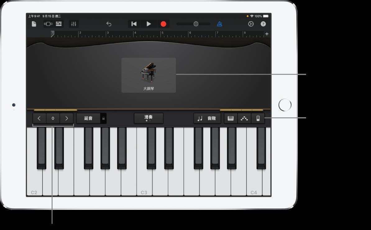鍵盤觸碰式樂器