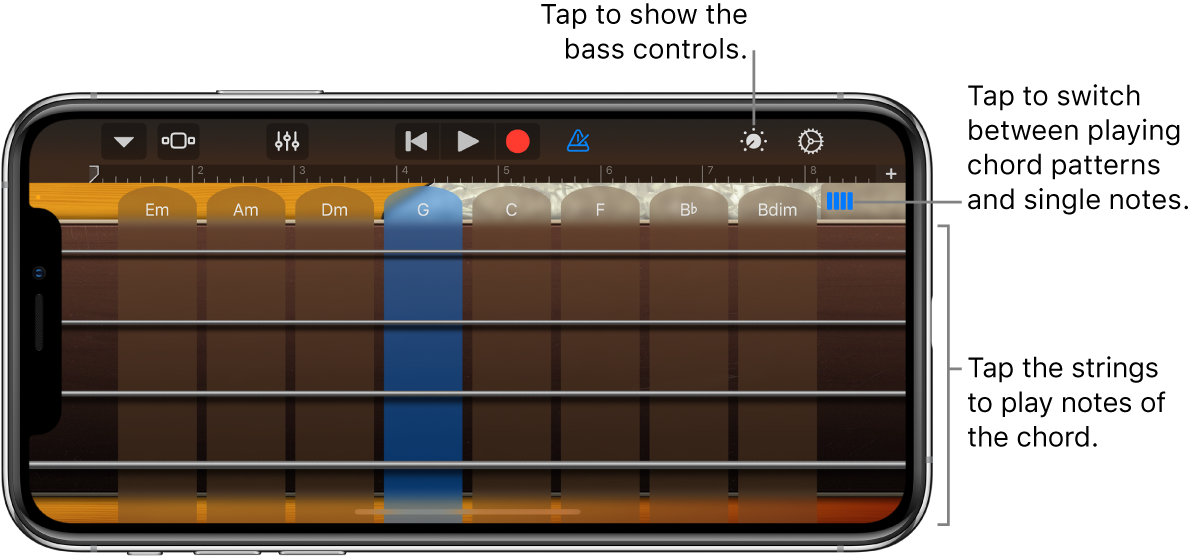 Bass Touch Instrument