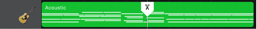 Regione con marcatore di suddivisione