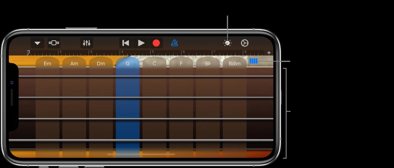 Instrument dotykowy Basy