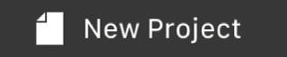 """Taste """"Neues Projekt"""" in der Touch Bar"""
