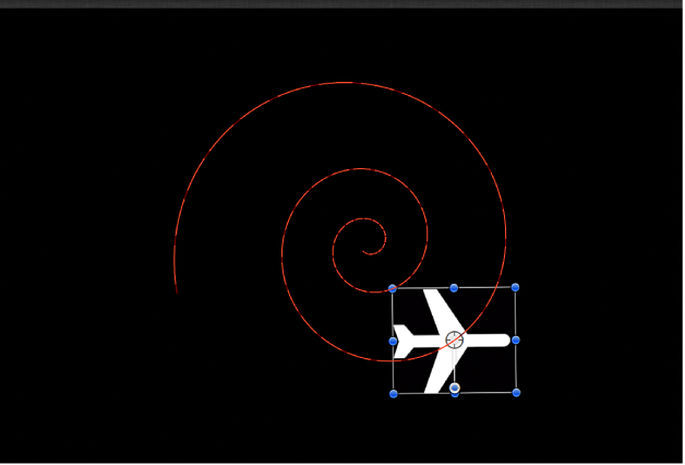 Object following motion path without Snap Alignment to Motion applied