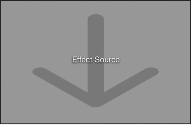 Imagen de una capa de marcador de posición en el lienzo