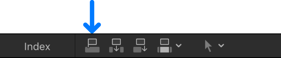 The Connect button above the timeline
