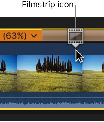 显示连续画面图标的重新定时编辑器