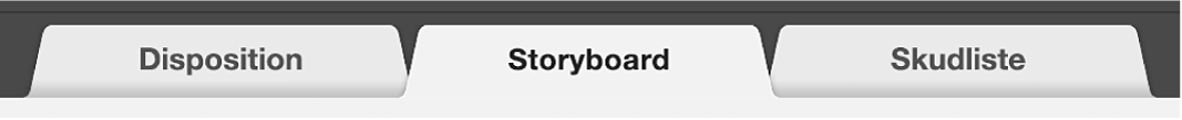 Fanen Storyboard til forfilm