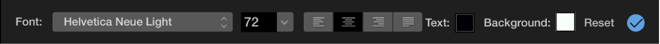 Title controls