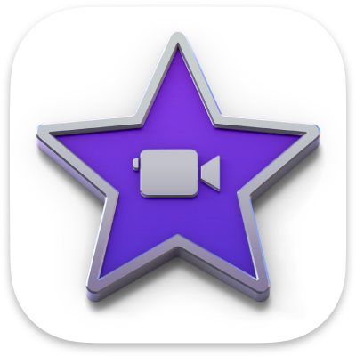 Icône de l'app iMovie