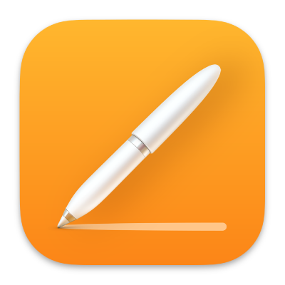 The Pages app icon.